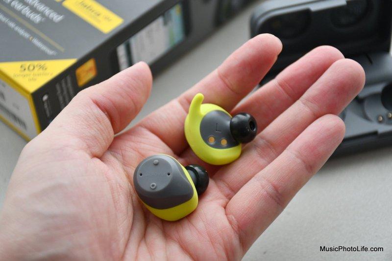 Jabra Elite Sport true wireless sports earphones