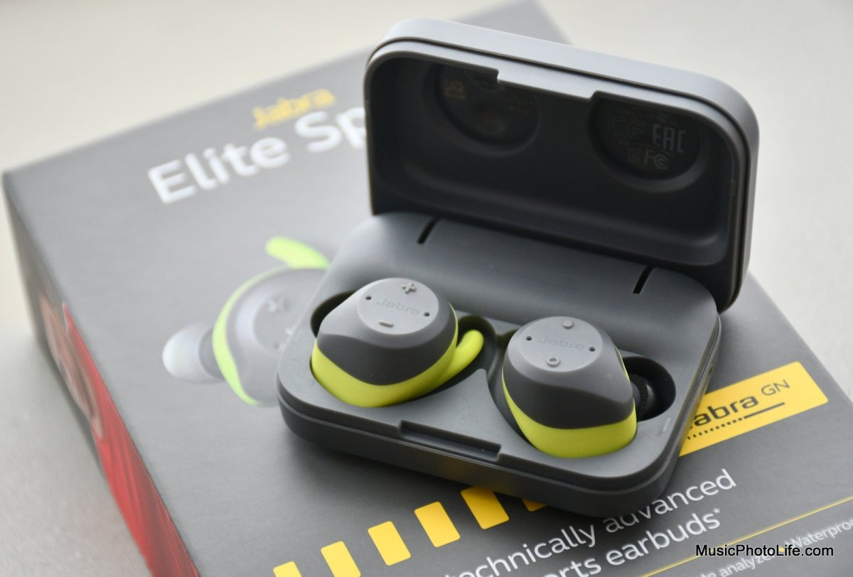 Jabra Elite Sport Review: Upgraded 2017 Version - True Wireless Sports Earbuds
