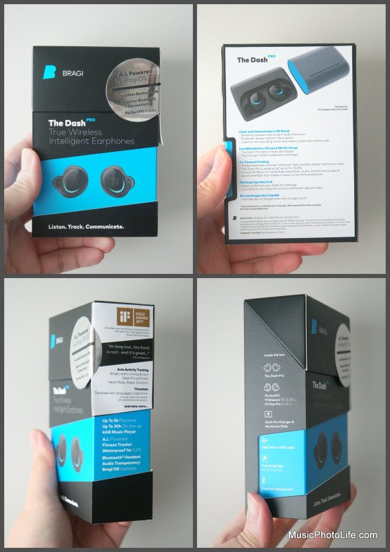 Bragi The Dash Pro retail box