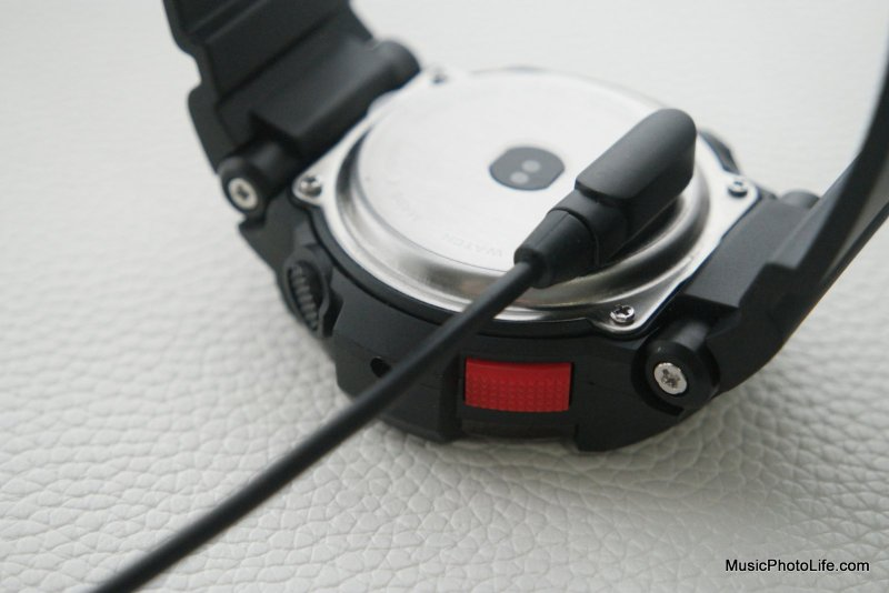 NO.1 F6 Smartwatch rear view