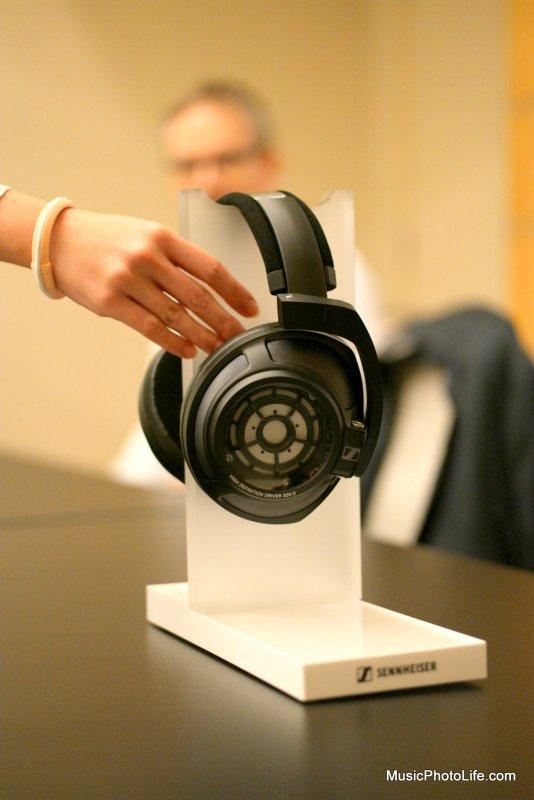 Sennheiser HD820 closed back headphones at CanJam Singapore 2018