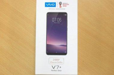 Vivo V7+ retail box