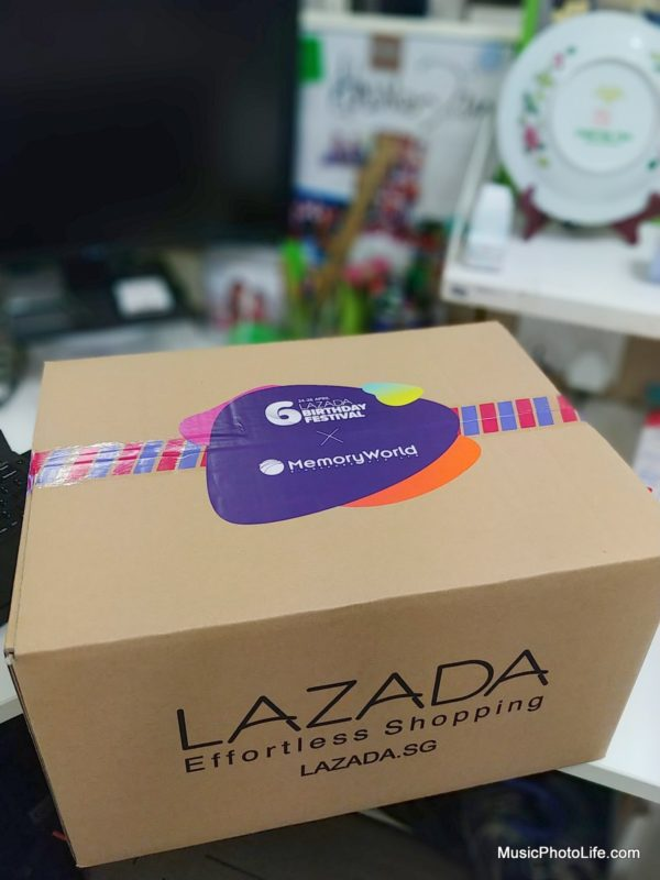 Lazada 2018 Birthday Surprise Box