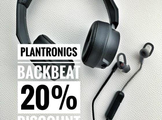 Plantronics BackBeat discount code BLPLT20C