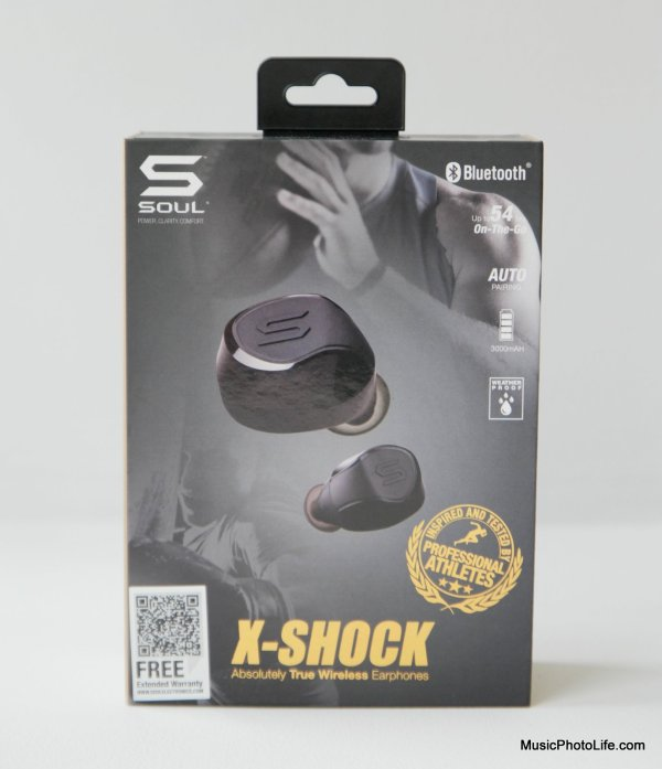 SOUL X-SHOCK True Wireless Sport Earbuds review by musicphotolife.com