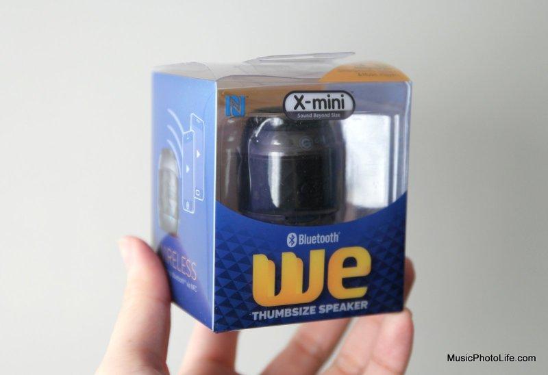 X-mini WE wireless speaker
