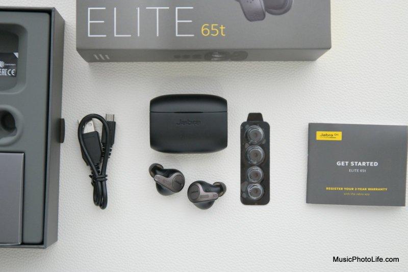Jabra Elite 65t review by musicphotolife.com