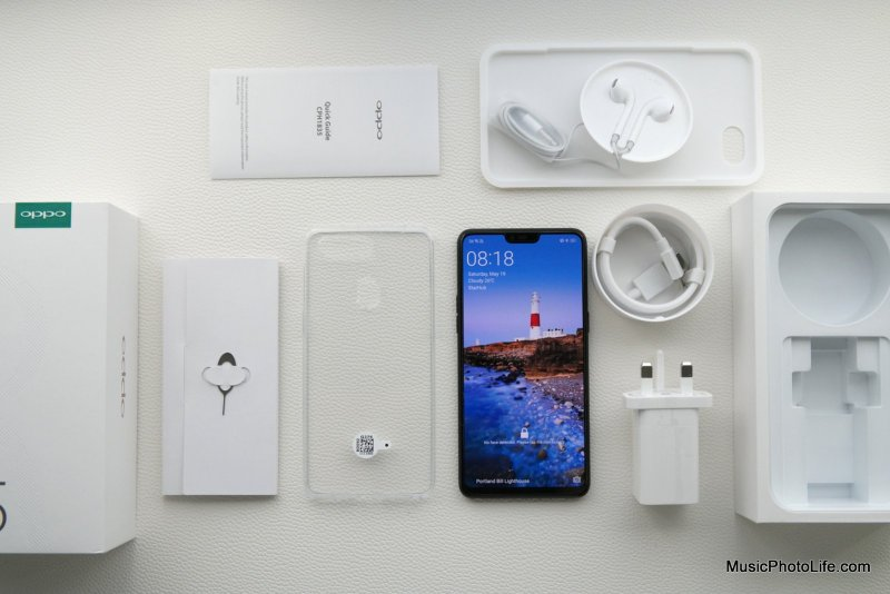 OPPO R15 unboxing review