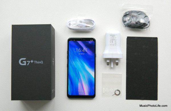 LG G7+ ThinQ unboxing
