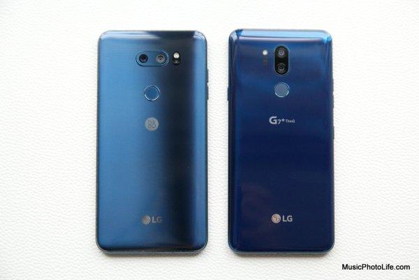 LG G7+ ThinQ vs. LG V30+