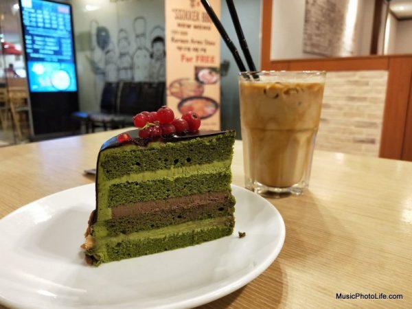 OPPO R15 Pro test image - matcha chocolate cake