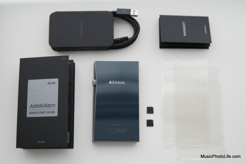 Astell&Kern A&futura SE100 unboxing by musicphotolife.com