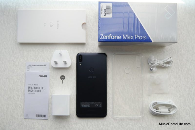 ASUS Zenfone Max Pro M1 unboxing review by Singapore consumer tech blogger Chester Tan musicphotolife.com