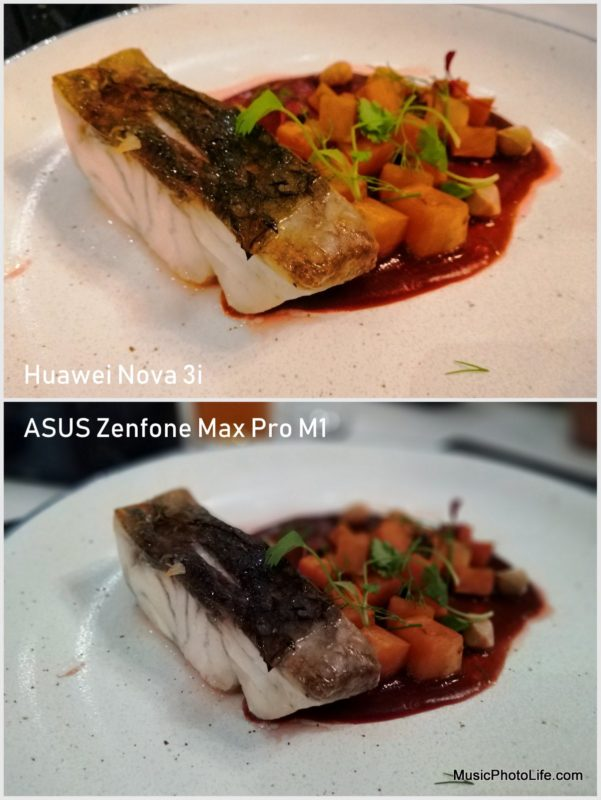 Huawei Nova 3i vs. ASUS Zenfone Max Pro M1 - camera sample: food
