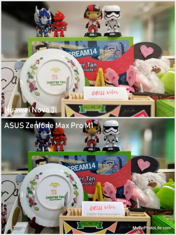 Huawei Nova 3i vs. ASUS Zenfone Max Pro M1 - camera sample: bokeh