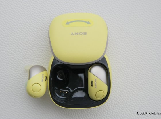 Sony WF-SP700N true wireless earphones review by Chester Tan musicphotolife.com, Singapore consumer tech gadget review site