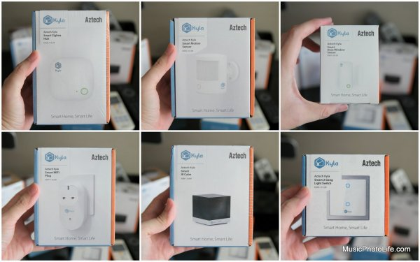 Aztech Kyla Smart Home review by musicphotolife.com, Singapore tech gadget blog