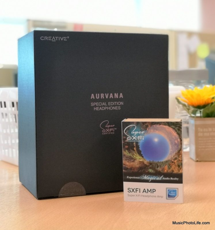 Creative Super X-Fi Amp with free Aurvana SE headphones