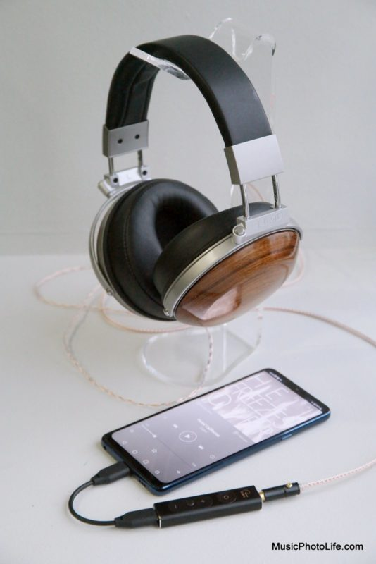 E-MU Teak Audiophile Reference Headphones with LG G7+ ThinQ and Creative SXFI Amp