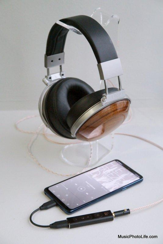 E-MU Teak Audiophile Reference Headphones with LG G7+ ThinQ and Creative SXFI Amp