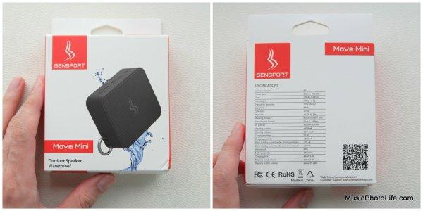 Sensport Move Mini bluetooth speaker review by musicphotolife.com, Singapore consumer gadget tech blog