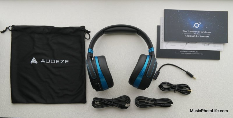 Unboxing Audeze Mobius review by musicphotolife.com, Singapore consumer audio product blogger