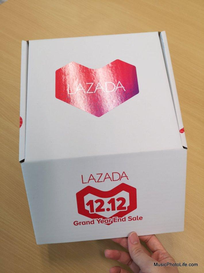 Lazada X JBL Surprise Box review by musicphotolife.com, Singapore consumer tech gadget blogger