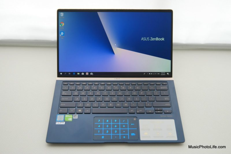 ASUS Zenbook 14 UX433F review by musicphotolife.com, Singapore consumer tech blogger