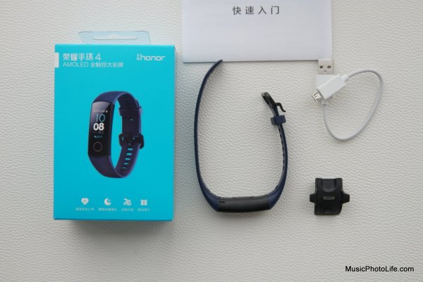 Honor Band 4 review by musicphotolife.com, Singapore consumer tech blogger
