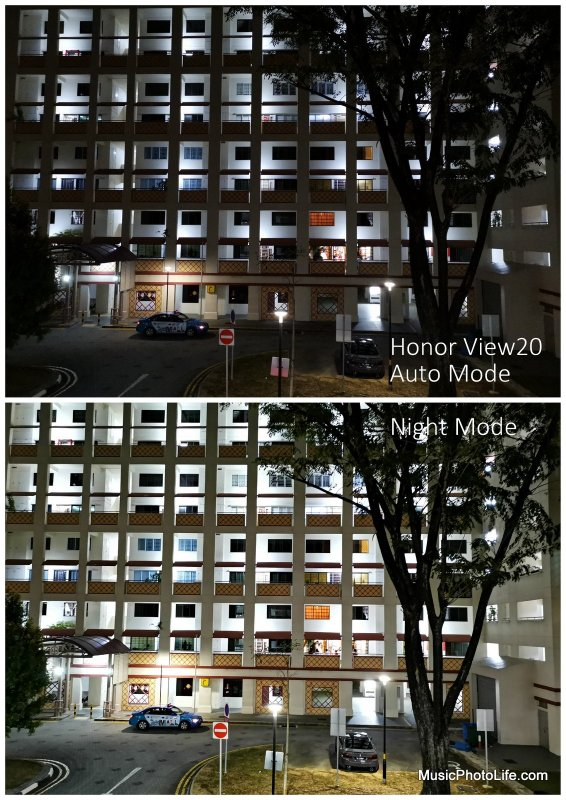 Honor View20 sample photo - night