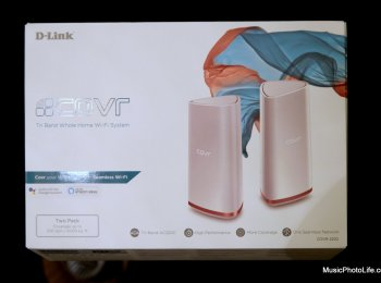 D-Link COVR-2202 Wi-Fi Mesh Router AC2200 review by musicphotolife.com, Singapore smart home consumer tech blogger