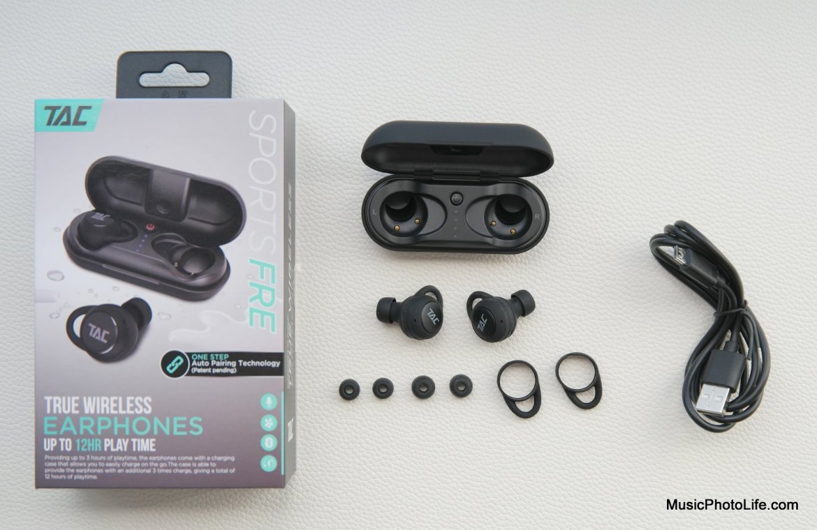 TAC Sportsfre True Wireless Earphones review by Chester Tan musicphotolife.com Singapore Tech Blogger