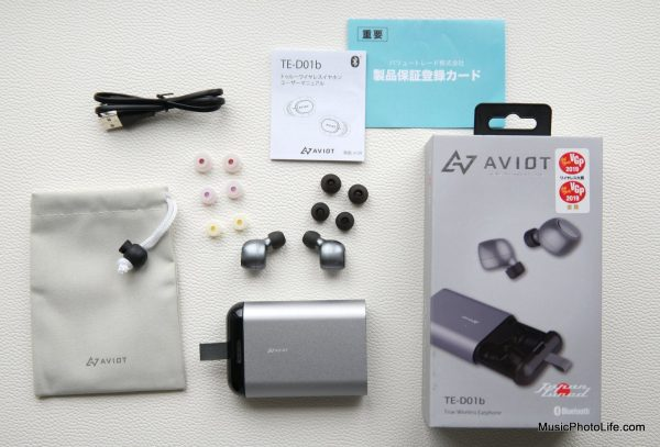 AVIOT TE-D01b true wireless earphones by musicphotolife, Singapore headphones review
