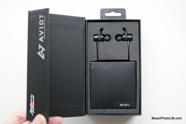 AVIOT WE-D01c wireless earphones review by musicphotolife.com, Singapore headphones review site