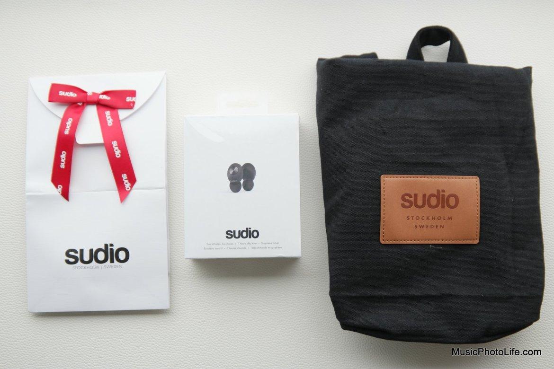 Sudio Tolv true wireless earphones review by musicphotolife.com , Singapore headphones review website