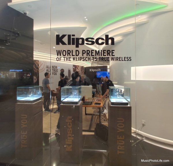 Klipsch T5 True Wireless World Premiere in Singapore