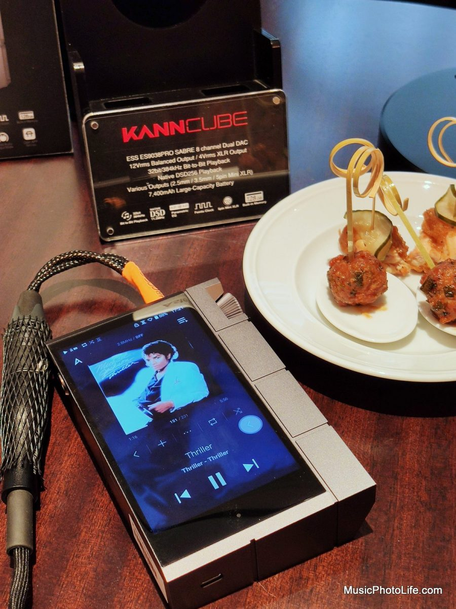 Astell & Kern KANN CUBE at Singapore launch