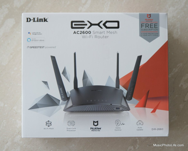 D-Link DIR-2660 Smart Mesh Router review by musicphotolife.com Singapore smarthome blog
