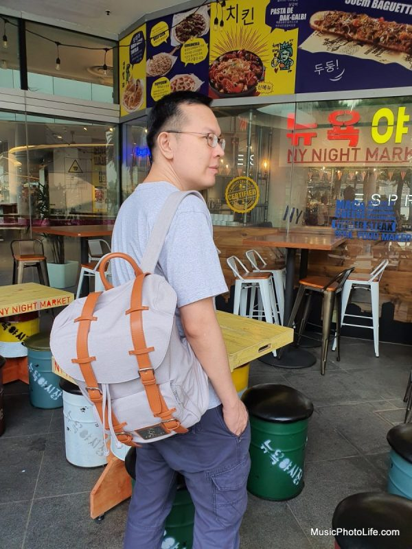 Gaston Luga Classic Backpack review by musicphotolife.com Singapore blogger