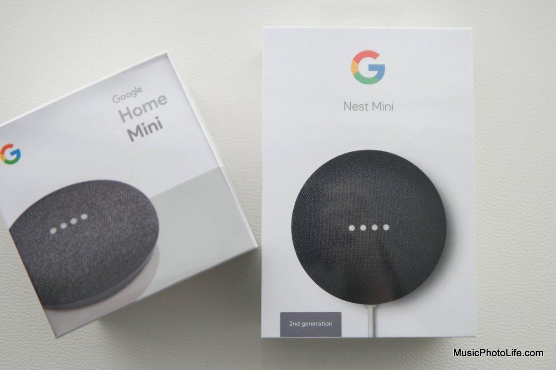 Google Nest Mini vs. Home Mini