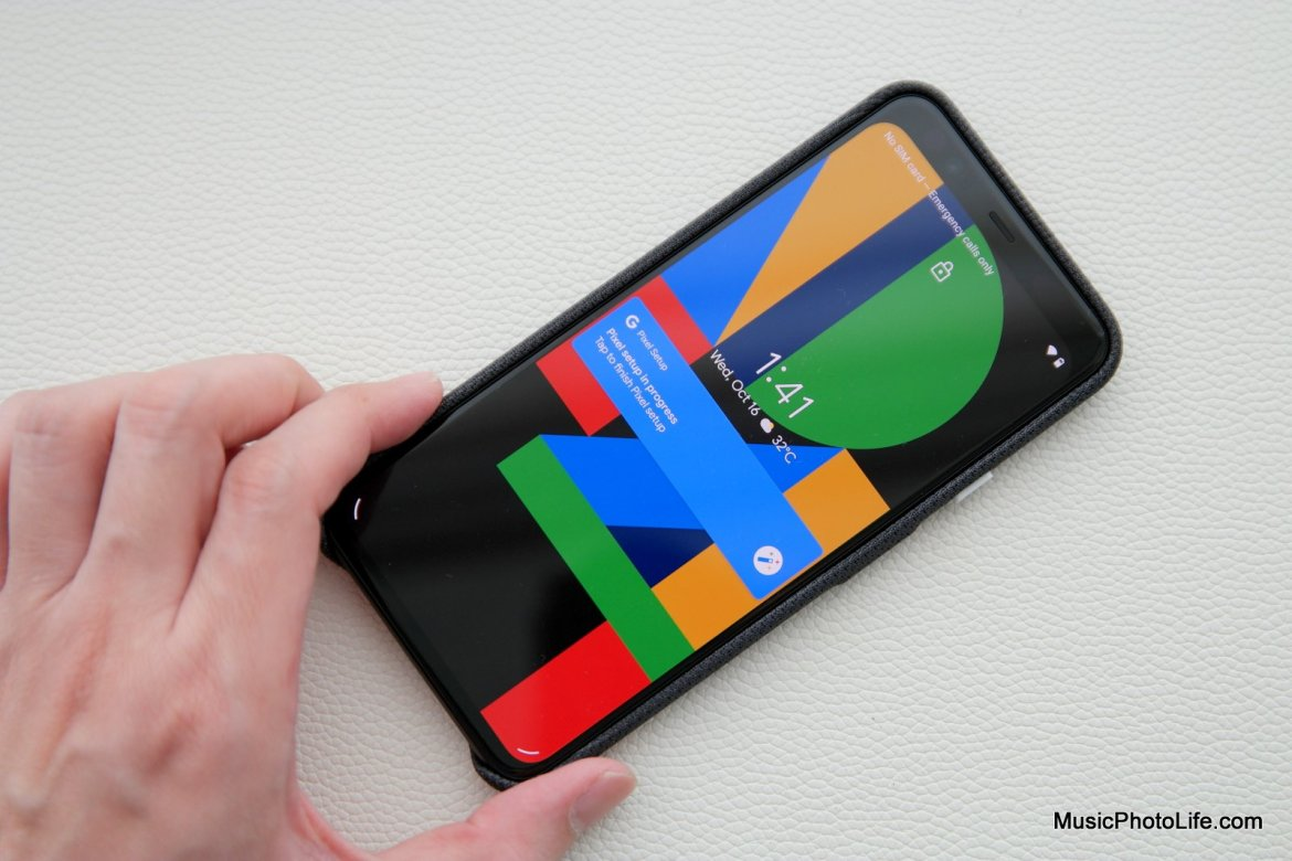 Google Pixel 4 XL review by musicphotolife.com Singapore tech blog