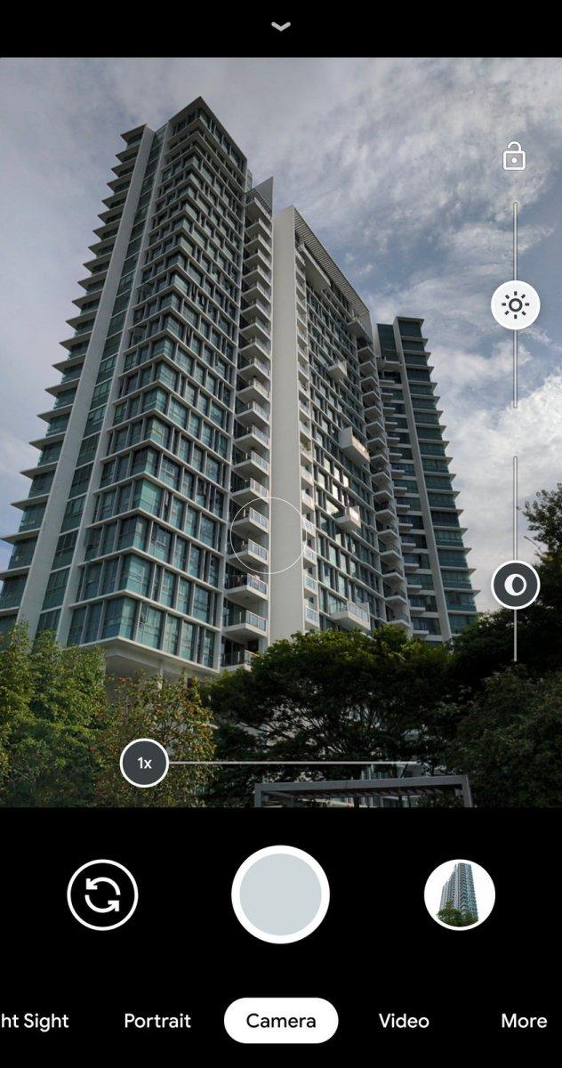 Google Pixel 4XL Camera app