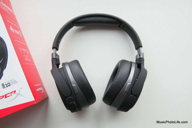 HyperX Cloud Orbit S 3D surround headphones top down photo