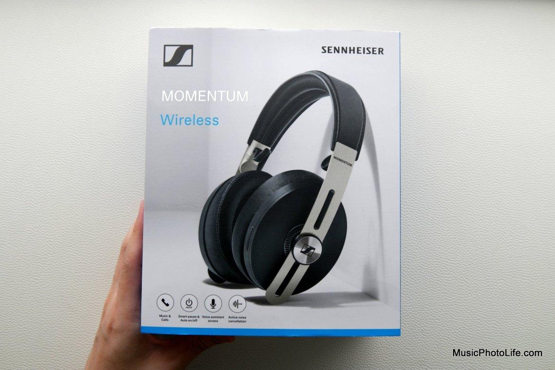 Sennheiser Momemtum Wireless M3AEBTXL retail box