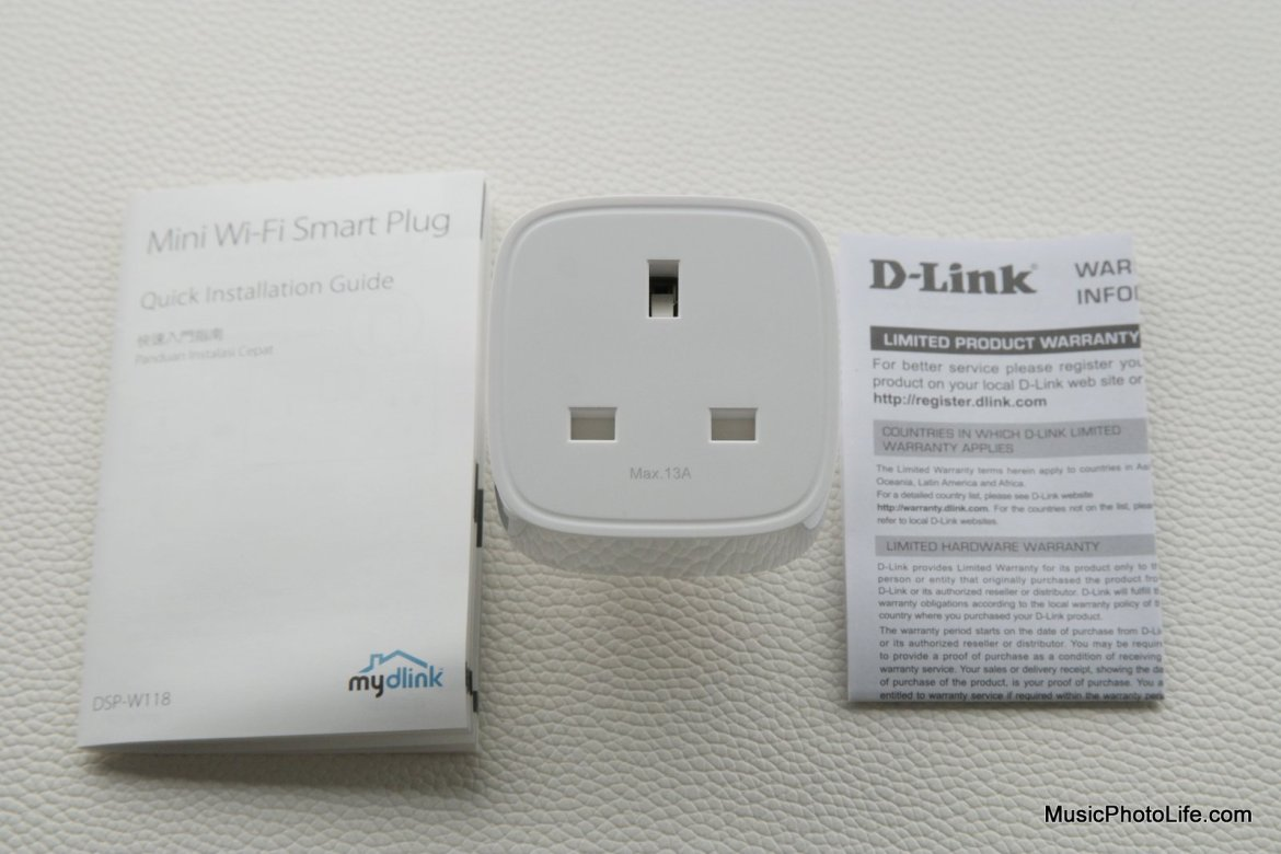 D-Link DSP-W118 Mini Smart Plug review by musicphotolife.com Singapore tech blog