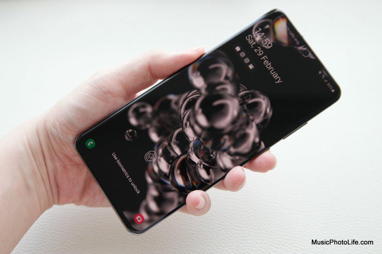 Samsung Galaxy S20 Ultra 5G review by musicphotolife.com Singapore tech blog