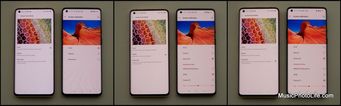OPPO Find X2 Pro vs. OnePlus 8 Pro - display