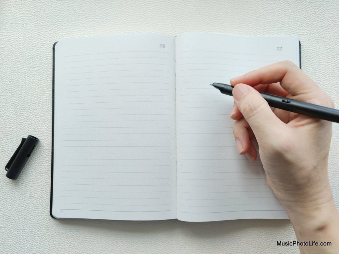 Neo Smartpen M1+ and N Notebook review by Chester Tan musicphotolife.com Singapore tech blog