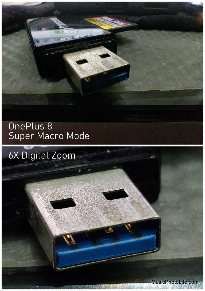 OnePlus 8 Macro mode comparison