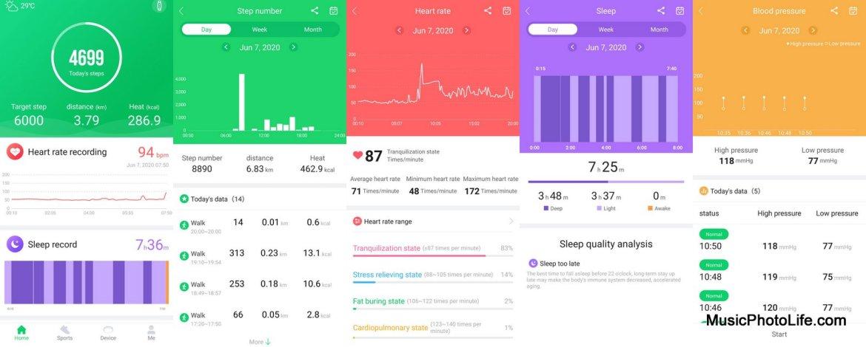 BlitzWolf BW-HL3 Smartwatch app GloryFit review by Music Photo Life, Singapore tech blog